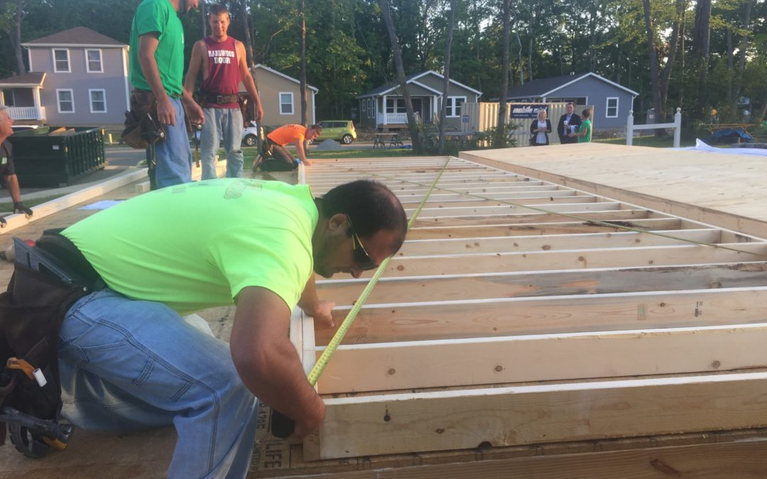 2016 Habitat Builders Blitz underway