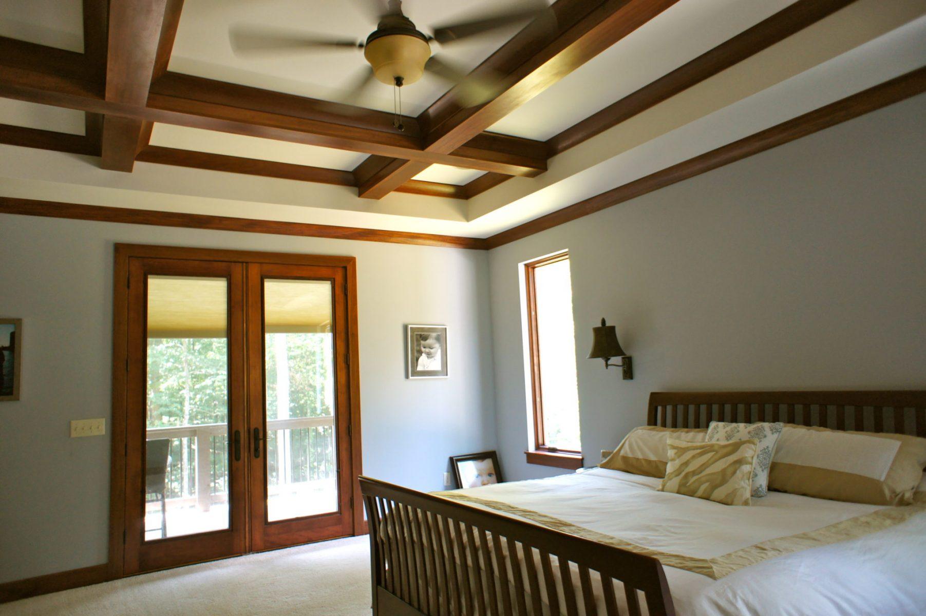 beamed ceiling