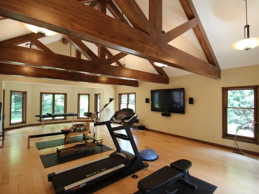 Workout Room and Master Bath