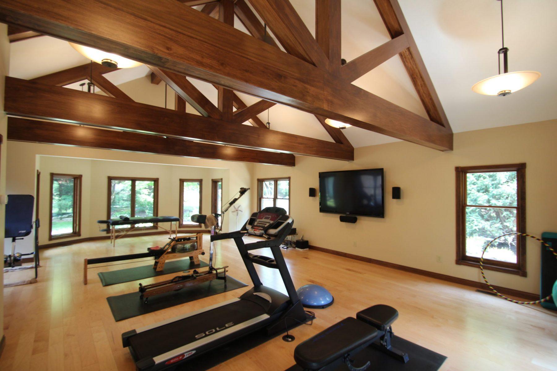 vaulted ceiling beams