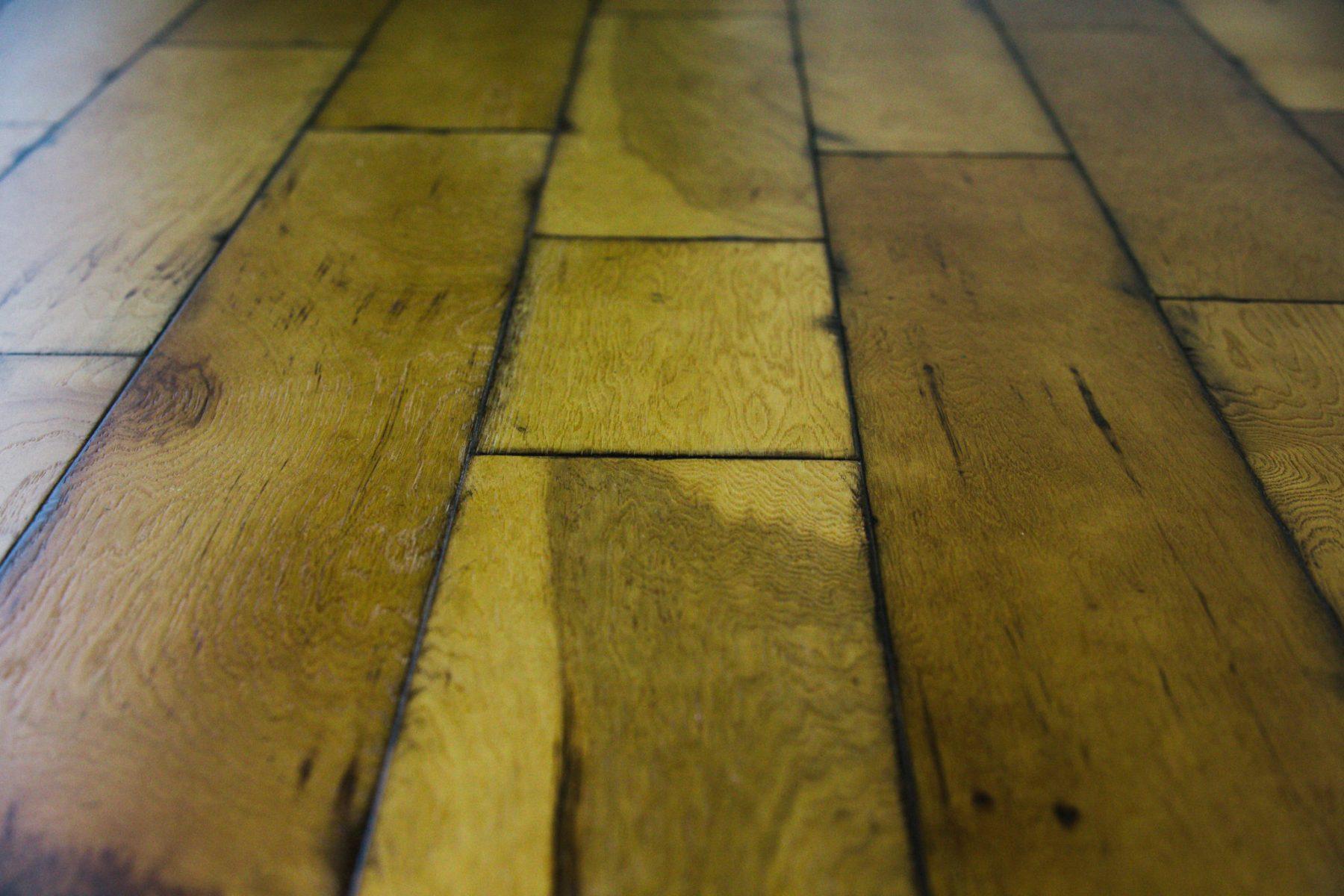 distressed hardwood floor lake monroe view