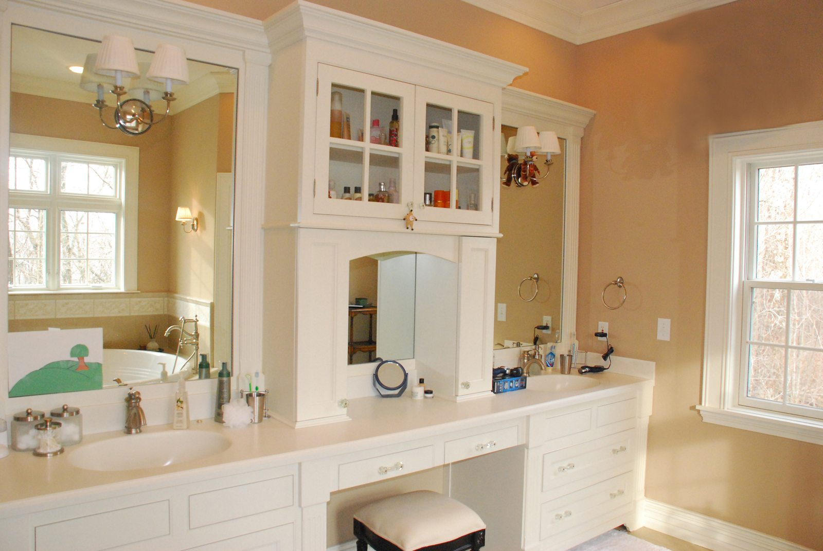 Master Bath Custom Cabinetry