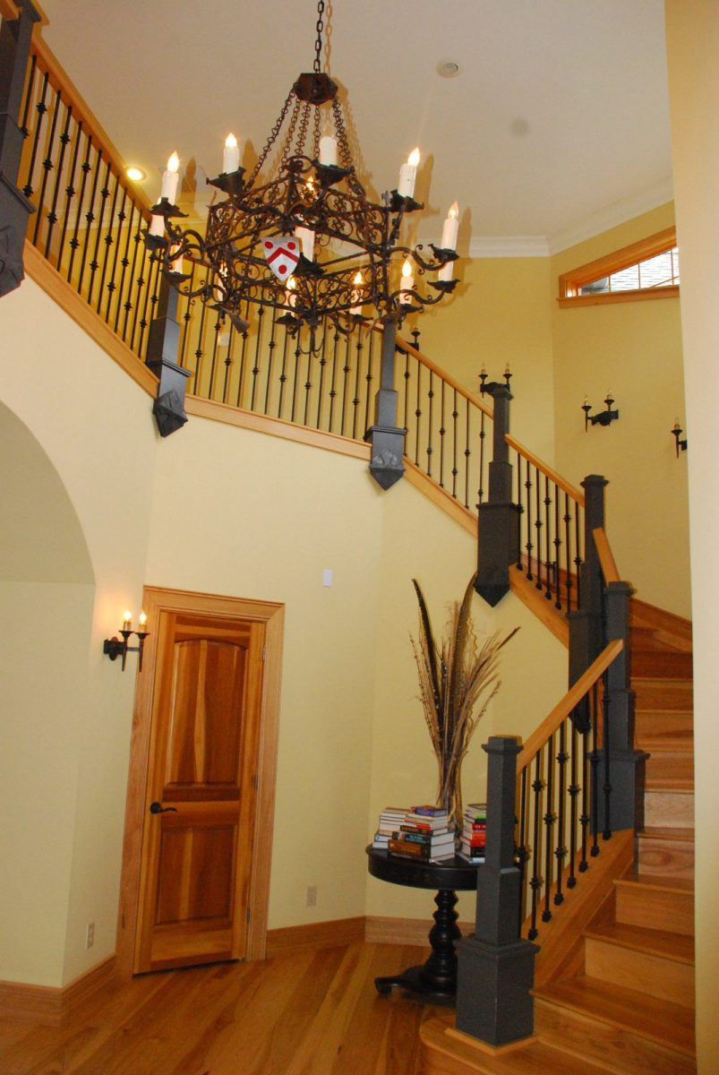 Rounded Staircase