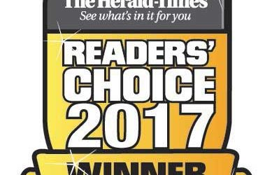 2017 Readers Choice Award